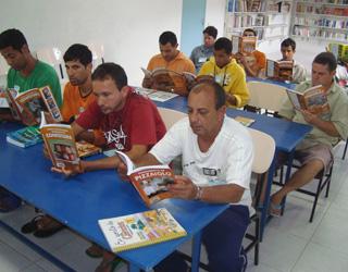Alunos do Curso Básico de Panificação em sala de aula