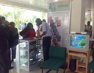Centro de Conhecimento Comunitário Olá Futuro, no Distrito de Nacaroa, Província de Nampula, em Moçambique, África.