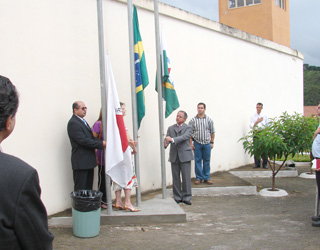 Inauguração do Núcleo de Ensino e Profissionalização Escola Estadual Prof. Cid Batista.
