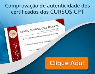 Clique aqui para validar o Certificado Curso CPT