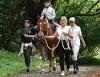 Equoterapia precisa de cavalos bem treinados