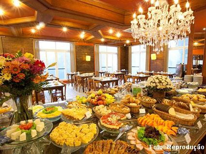 Café da manhã de hotel