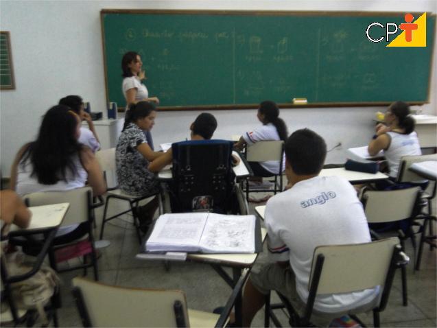 Aula para alunos especiais