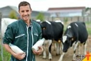 Valor médio do litro de leite teve alta em julho