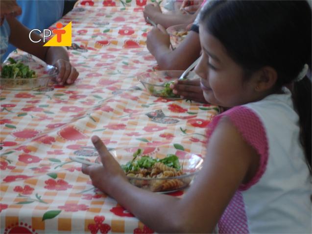 Alimentação nas escolas