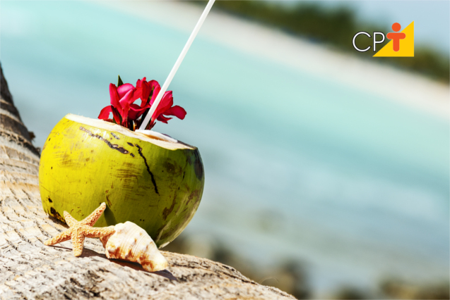 Água de coco verde