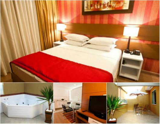 Conheça um pouco mais a Suíte Solarium do Alfa Hotel