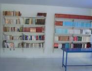 Início de montagem da sala da Biblioteca na APAC - Viçosa - MG