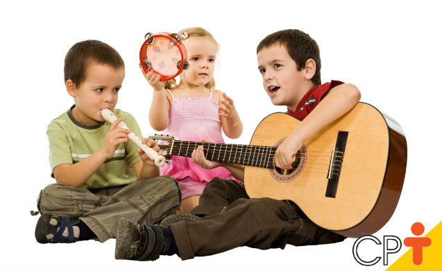 Música: importante instrumento para a socialização infantil   Para Refletir Cursos CPT