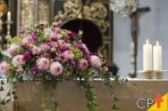 Tipos de arranjos florais usados em igrejas