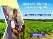 Dia do trabalhador rural com promoção de 5% de desconto nos softwares da área rural