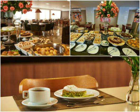 Conheça um pouco mais o café da manhã do Alfa Hotel