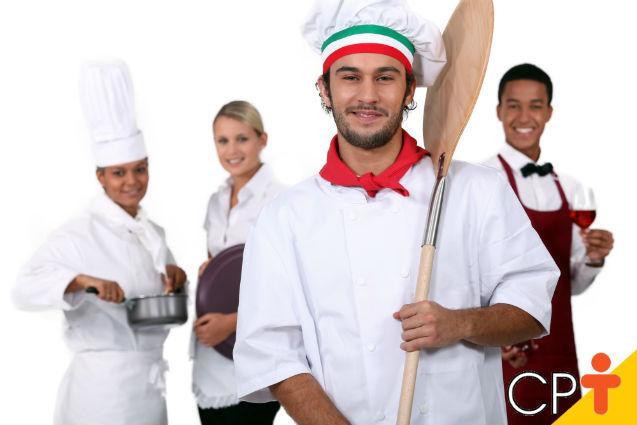 Pizzaiolo: sua postura profissional é adequada? Faça já o teste!   Artigos Cursos CPT