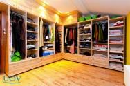 Dicas para ajudar na organização do seu guarda-roupa