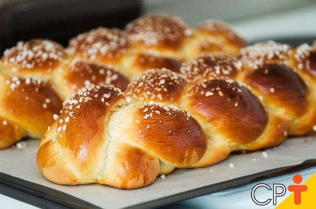 Pão de batata-baroa: aprenda a fazer   Receitas Cursos CPT