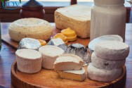 A maturação de queijos