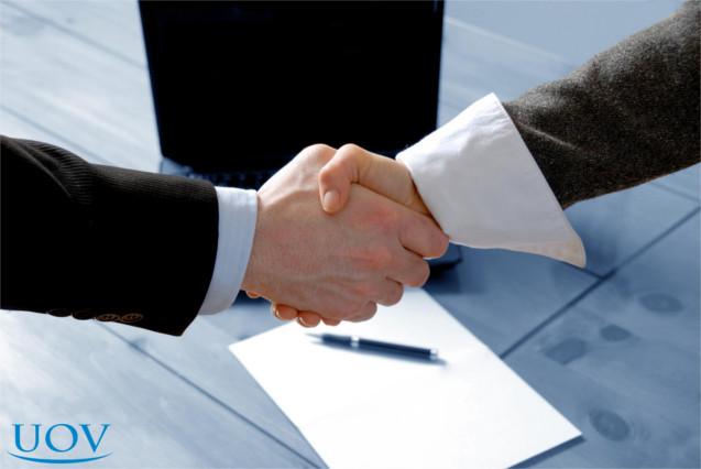 Negócio entre franqueado e franqueador