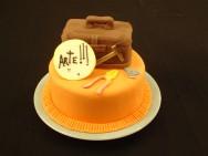 Graças aos recursos de decoração, pode-se ornamentar um bolo das mais variadas maneiras.