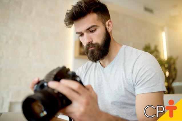 Câmeras fotográficas profissionais (DSLR)   Artigos Cursos CPT