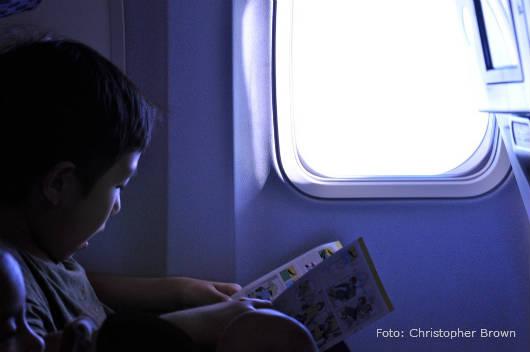 Recomendações para viagem com crianças