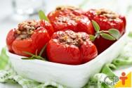 Pimentão Recheado com Carne Moída - aprenda a fazer