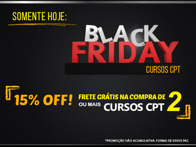 Black Friday Cursos CPT