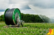 Como irrigar com autopropelido?