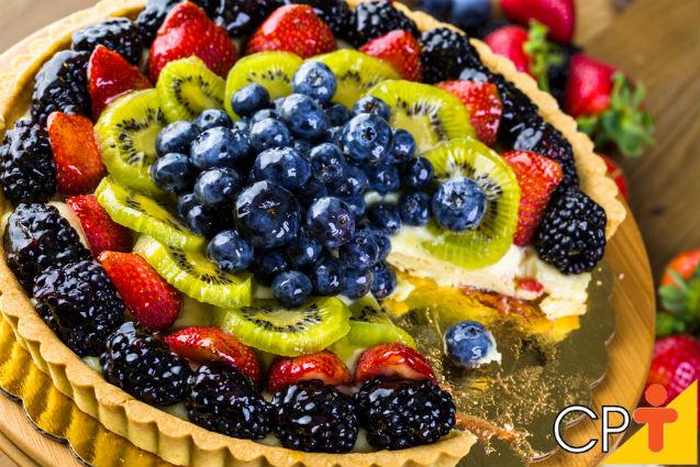 Torta de frutas: aprenda a fazer   Artigos Cursos CPT