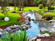 Outros elementos de composição de um jardim