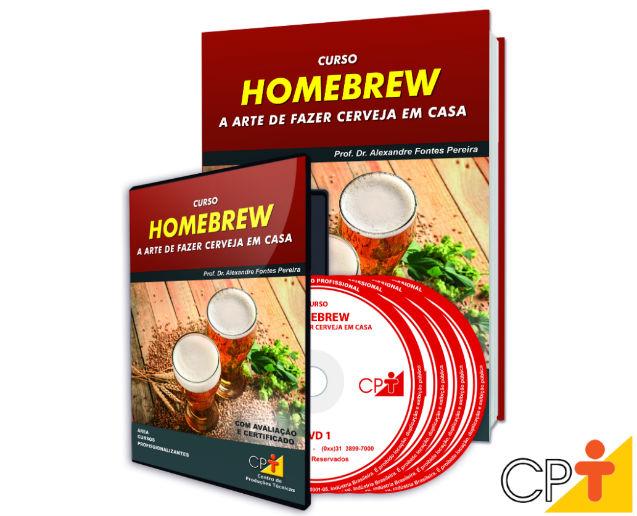 Homebrew: a arte de fazer cerveja em casa – o novo curso a distância CPT