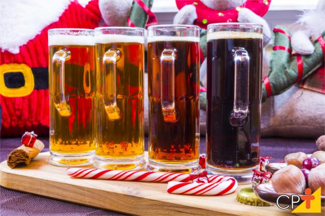 Cervejas e o natal