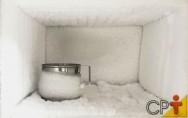 Quer saber como se forma o gelo nos congeladores das geladeiras?