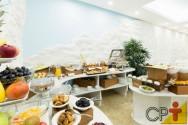 Café da manhã em hotel: dicas de posicionamento da mesa