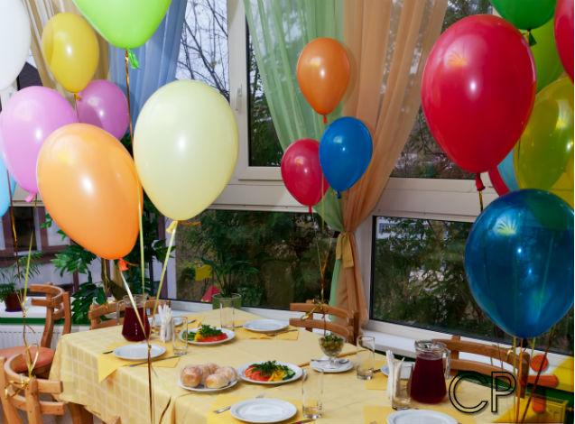 Decoração com balões de gás hélio: usar ou não usar?   Dicas Cursos CPT