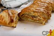 Torta folhada de bacalhau: aprenda fazer