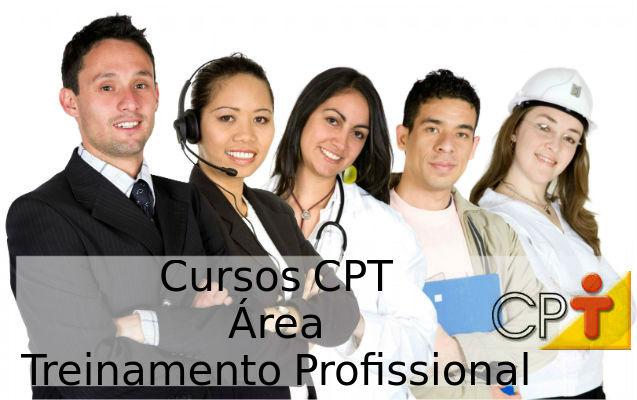 Cursos CPT na área Treinamento Profissional