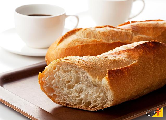 Pão com café