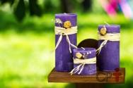Vou fabricar velas decorativas. Como preparar a parafina?