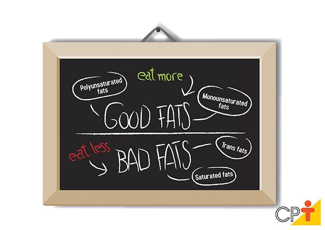 Gorduras boas e gorduras ruins