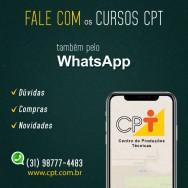 Atendimento pelo WhatsApp, mais uma melhoria dos Cursos CPT