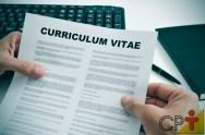 Currículo e entrevista: primeiros passos para a sua contratação