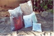 O húmus é um rico adubo orgânico que pode ser utilizado  em todas as culturas.