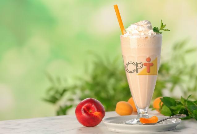 Milk-shake de Pêssego: aprenda fazer!    Artigos Cursos CPT