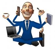 Um dos sintomas do TDA/H em adultos é o forte entusiasmo, acrescido por tarefas múltiplas.