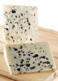 O queijo fino rouquefort é fabricado exclusivamente com leite de ovinos.