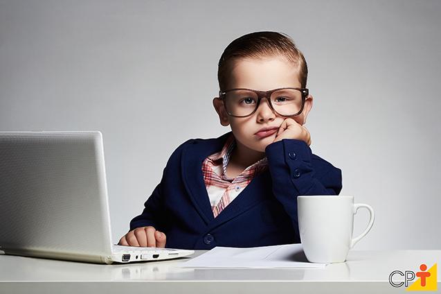 Criança empresária