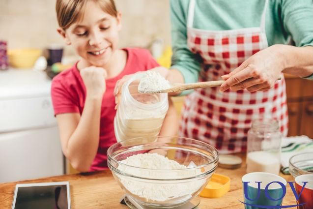 Você sabe medir ingredientes secos?   Artigos Cursos UOV
