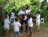 Canções de roda promovem interação de maneira divertida