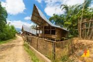 Construções com bambu são uma opção de baixo custo