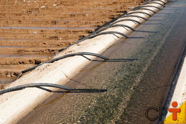 Quem precisa solicitar OUTORGA de uso da água?   Artigos Cursos CPT